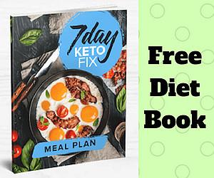 Free Diet Book: 7 Day Keto Fix
