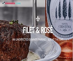 $30 Filet & Rosé at Ruth's Chris Steak House