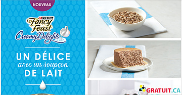 Gratuit - Purina Fancy Feast Creamy Delights