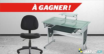 Gagnez votre mobilier de coin ordinateur