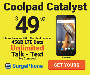 Save up to $60 with Surge Phone