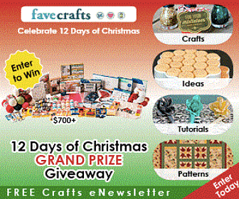 12 Days of Giveaways from Favecrafts
