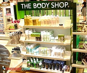 Free £5 To Spend at The Body Shop For Your Birthday