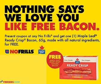 Free Maple Leaf Bacon at No Frills