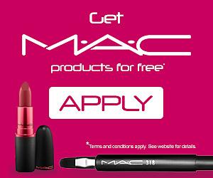Free MAC Cosmetics