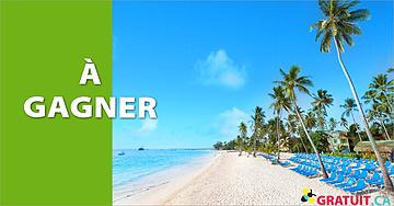 Gagnez un voyage pour deux à Punta Cana