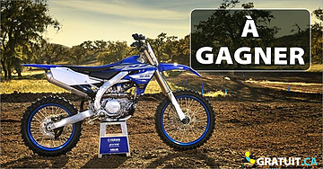 Gagnezune moto Yahama YZ450