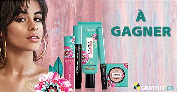 Gagnez 200$ de produits de beauté L'Oréal