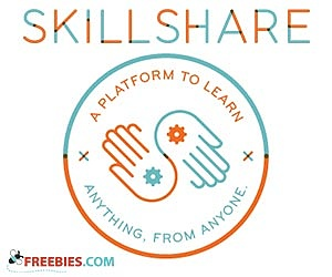 Free Skillshare 2 Month Trial