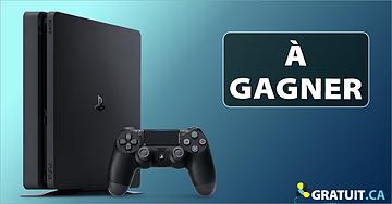 Gagnez un ensemble Sony PS4
