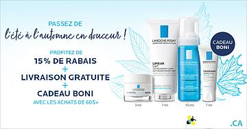 Recevez un cadeau gratuit de La Roche-Posay