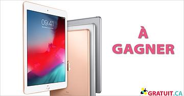 Gagnez un iPad Gold!