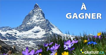Gagnez un voyage en Suisse