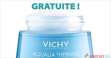 Échantillon GRATUIT de la crème Aqualia Thermal Light de Vichy!