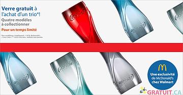 Obtenez un verre Coca-Cola gratuit