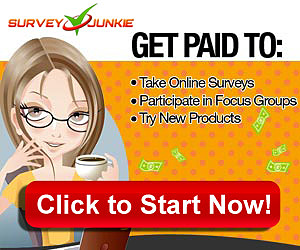Join Survey Junkie, Get Paid