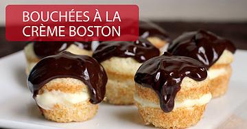 Bouchées à la crème Boston