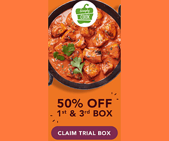 50% Off Simply Cook Box