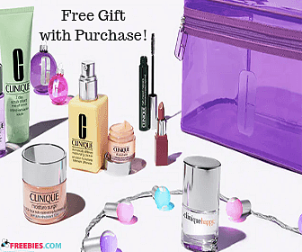 Five Clinique Freebies with Purchase