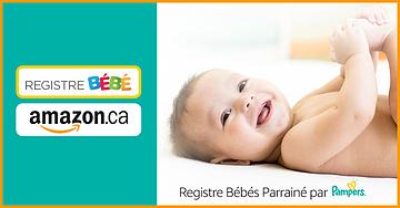 Profitez des avantages du registre pour bébé Amazon - Pampers
