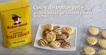 Biscuits sablés qui fondent dans la bouche