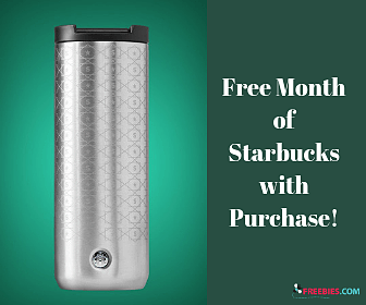 Free Starbucks Every Day in January with Purchase