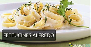 FETTUCINES ALFREDO