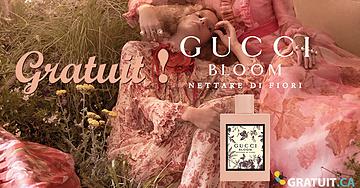 Échantillon gratuit de parfum Gucci Bloom