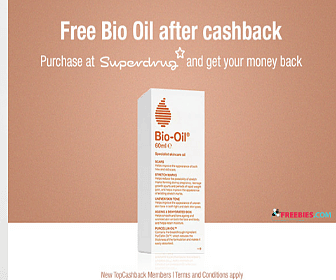 Free Bio Oil with Sign Up