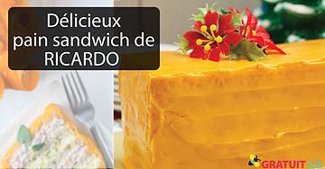 Le délicieux pain sandwich de Ricardo