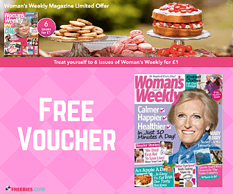 Free Voucher for Woman's Weekly Magazine