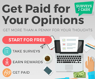 Surveys2Cash: Get Paid for your Opinions