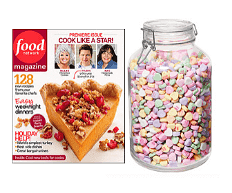 Free Food Network Magazine & Win $500