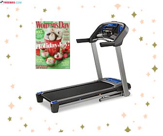 Free Woman's Day Magazine + Win a Treadmill