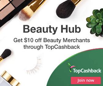 $10 Off Beauty Merchants with TopCashback