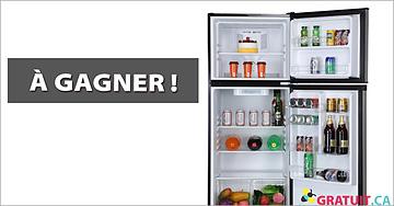Gagnez un réfrigérateur à congélateur supérieur 9,9 pi³ 24 po d'Insignia