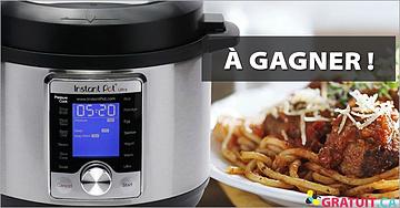 Gagnez un multi cuiseur Instant Pot