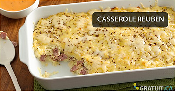 Casserole Reuben - un plat savoureux et vraiment pas cher