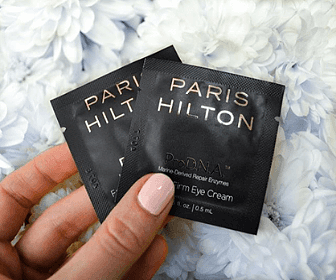 Free Paris Hilton Skincare Sample