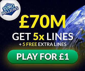 Win the £70M Jackpot with EuroMillions