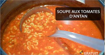 Soupe aux tomates d'antan