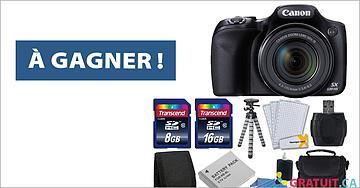 Gagnez un appareil photo Canon PowerShot