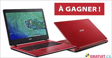 Gagnez un portable Acer Aspire