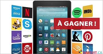 Gagnez une tablette Amazon Fire 7