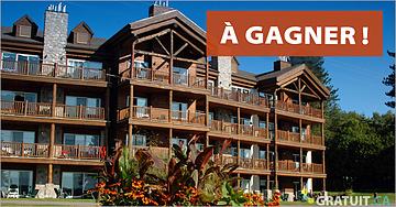 Gagnez l'escapade de vos rêves au Grand Lodge Mont Tremblant