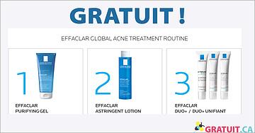 GRATUITS soins pour la peau La Roche-Posay