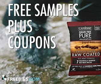 Free Canidae Dog Food Coupon