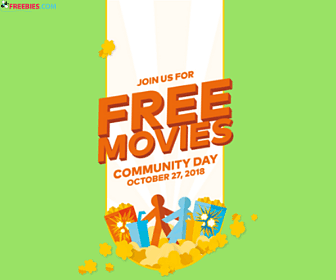 Free Movies at Cineplex