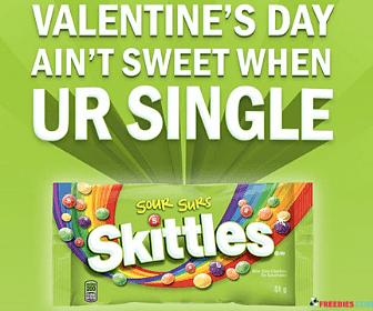 Free Sour Skittles