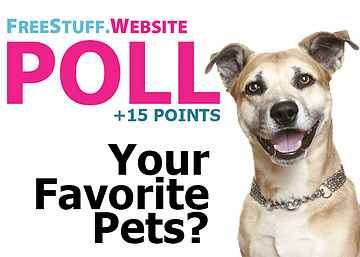 Poll: What Are Your Favorite Pets?